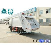 Quality 16Cbm 4 X 2 Self Loading Refuse Compactor Truck With Hydraulic System for sale