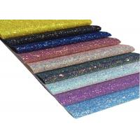 Wholesale A4 Size Glitter Fabric Sheet For DIY Material,Chunky Glitter Fabric Sheet from china suppliers