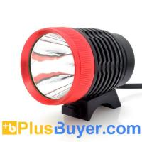 Wholesale Waterproof LED Bicycle Headlight + Headlamp (800 Lumens, Rechargeable) from china suppliers
