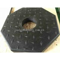 Wholesale Outdoor Rubber Pavers / Rubber Floor Paver Training Room Interlocking Tile from china suppliers