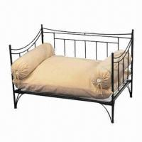 Wholesale Pet bed, made of handcrafted in solid wrought iron from china suppliers