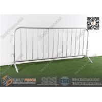 Wholesale 1.1X2.3m Galvanised Crowd Control Barrier with Fixed Leg made in China from china suppliers