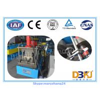 Buy cheap Three - Phrase High Speed Rain Gutter Roll Forming Machine One Year Guarantee from wholesalers