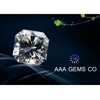 Wholesale VVS1 Fancy Loose Moissanite Diamond 8 mm With BV Certificate from china suppliers