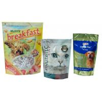 Wholesale Large Capacity Pet Food Packaging Bag , Bottom Gusseted Poly Bags For Food from china suppliers