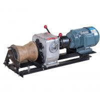 Wholesale Portable Mini 1 Ton Capacity Cable Winch Puller with Electric Engine For Pulling Hoisting from china suppliers