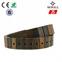 Wholesale Custom Made Handmade Wood Accessories KOA Walnut Wooden Belt from china suppliers