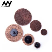 Wholesale 2 Inch Quick Change Abrasive Discs Metal Polishing TS TR Type Support  Flax Nylon from china suppliers