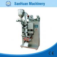 Wholesale Double Line Liquid / Catsup 350mm Plastic Film Sealing Machine With Three Step Roller from china suppliers