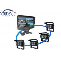 Wholesale 7''  TFT LCD Car Standalone Monitor 4 Quad Images for Vehicle from china suppliers