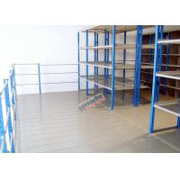 Wholesale Auto Parts Rack / Galvanized Steel Rack For Storage 100 Kg Per Level from china suppliers