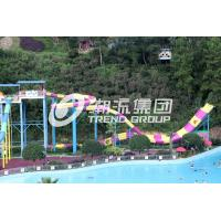 Wholesale Customized Water Park Equipment Exciting Swwiming Pool Fiberglass Waterslides For Adults from china suppliers