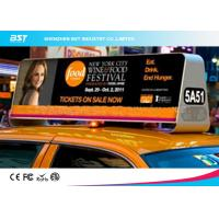 Wholesale High Density P5 Taxi Led Display 1R1G1B , Taxi Roof Advertising Signs from china suppliers