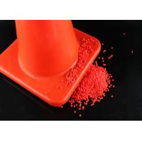 Wholesale Red Color Plastic PVC Compound PVC Material For Road Cone Good Hardness from china suppliers