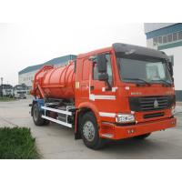 Wholesale Howo 6x4 Djibouti Market With Air Conditioner 129hp 8m³ Sewage Vacuum Truck from china suppliers