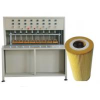 Wholesale 10pcs / min Pleater Machine Air Filter Production Line 740×800×1700mm from china suppliers