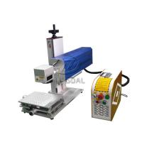 Wholesale Mini Glasses Lens Marking Machine Co2 RF Laser Marking Machine 30W from china suppliers