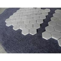 Carrara white hexagon  mosaic tile 3