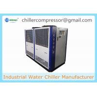 Buy cheap 25HP 18 TR Air Cooled Water Chiller with Internal Water Tank And Pump from wholesalers