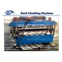 Wholesale PPGI Standard IBR & 762 Wave Roof Sheet Machine With 7.5KW Main Power from china suppliers