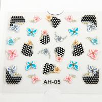 Easy Diy Nail Art Stickers : The lace french nail decal easy diy art decals of