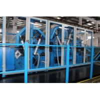 Wholesale Nonwoven Polyester Wadding Wool Carding Machine , Fiber Processing Equipment Double Doffer from china suppliers