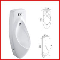 Wholesale cheap automatic sensor ceramic urinal with cover male urine bowl from china suppliers