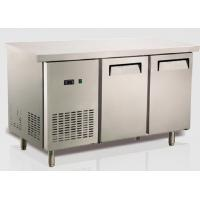 Buy cheap Ventilation Cooling Stainless Steel Bench Fridge Restaurant Equipment Refrigeration US Type from wholesalers