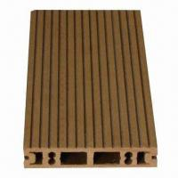Buy cheap Wood and plastic outdoor deck flooring, various designs are available from wholesalers