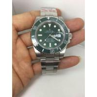 Wholesale The strategy of Brand watch purchase ROLEX Submariner Green Dial Steel Men's Watch from china suppliers