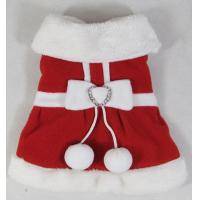 Wholesale Christmas dog coats with good material from china suppliers