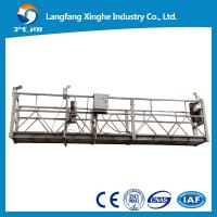 Wholesale zlp630 aerial suspended platform / window cleaning cradle / gondola platform for high building from china suppliers