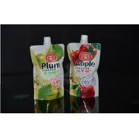 Wholesale Stand up and Plastic Beverage Liquid Packaging Spout Pouches Bag for Juice from china suppliers