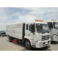 Wholesale HOT SALE! dongfeng brand 4*2 LHD big road sweeping vehicle for sale, factory sale best price dongfeng street sweeper from china suppliers