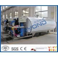 Wholesale Milk Cooling Stainless Steel Tanks for Cooling / Storage Fresh Milk Customized Size from china suppliers