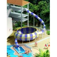 Wholesale Outdoor Kids Swimming Pool Water Slide Fiberglass Bowl Slide For Summer Entertainment from china suppliers