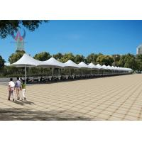 Wholesale Heavy Duty Car Parking Tensile Structure Customized Height Sunshine Proof from china suppliers