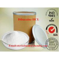 Wholesale No Side Effect Anesthetic EP8.0 Standard Dibucaine Hydrochloride CAS 61-12-1 Dibucaine HCL from china suppliers