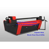 Wholesale Commercial Wide Format UV Printing Machine CMYK  Lc  Lm 6 Color Touch Screen from china suppliers