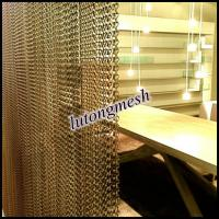 Wholesale Fashional aluminum chain link curtain for room divider from china suppliers