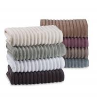 Wholesale Bath Cotton Beach Towels Jacquard Stripe With Different Colors from china suppliers