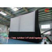 Wholesale Customized Latest Model Inflatable Outdoor Movie Screen For Advertising from china suppliers