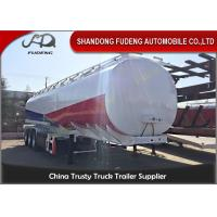 Wholesale 3 Axles 40000 Liters Fuel tanker semi trailers 10Compartments tanker trailers European system from china suppliers