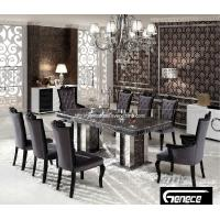 200cm marble top dining table can be seated with 10 person for 10 person dining table for sale