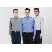 Classic Stereo Lapel Male Security Guard Dress Uniform With Detachable Security for sale