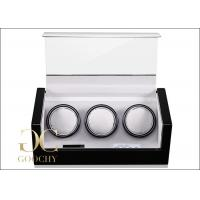 Wholesale Men And Women 3 Watch Winder , Watch Storage Box With Winder from china suppliers