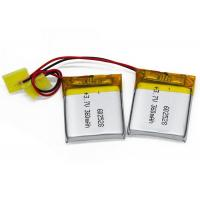 Wholesale 602528 360mAh 3.7 V Lipo Battery , Lithium Polymer Batteries for GPS , Bluetooth from china suppliers