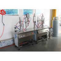 Wholesale Semi Automatic Professional Butane Gas LPG Gas Refilling Machine  Max 500ml from china suppliers