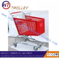 Wholesale Red Plastic Grocery Store Shopping Carts 125 Liters For Shopping Centre from china suppliers