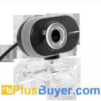 Wholesale 2 Megapixel Webcam with Adjustable Focus and Long Face Design - Black from china suppliers